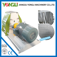 Easy to maintain Ring Die type hammer mill pulverizer