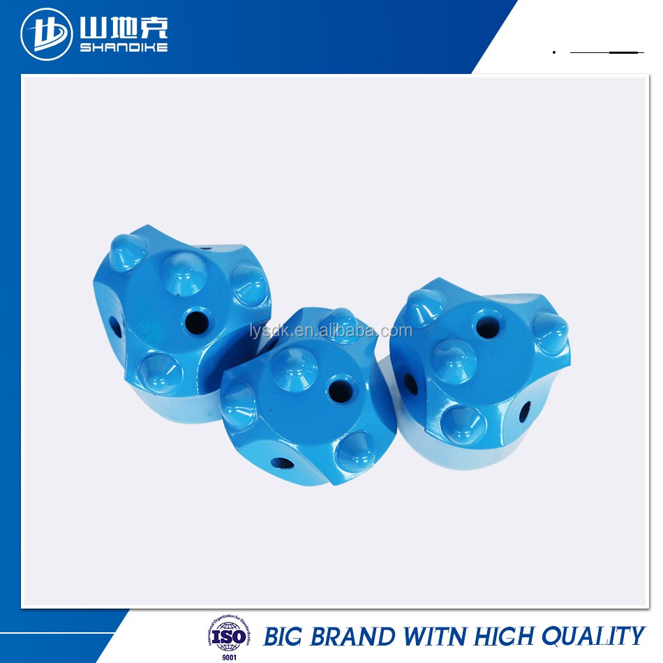 hex 22 shank 108 tapered drill bit for granite drilling