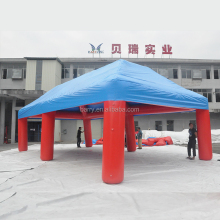 Advertising red inflatable tent china, commercial 4 legs inflatable spider tent