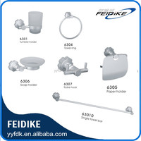 China Manufacture Hotel Home Bathroom Accessory Sets 6300 Series