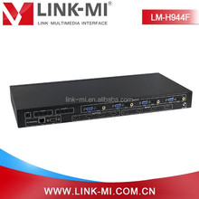 LINK-MI LM-H944F HDMI&VGA&AV input mixed inputs Video Processing Matrix switcher 4x4 Up to 1920x1080P@60Hz