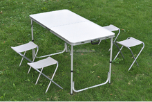 space saving furniture camping folding outdoor metal table and chair