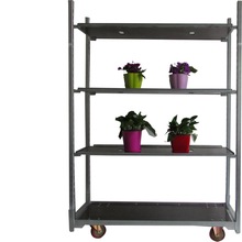 33 dutch trolley,half flower trolley,Nursery Flower Trolley