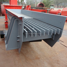 Automatic Straight Vibrating Feeder For Stone Crushing Line