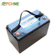 Factory Price 12V 100Ah LiFePO4 Rechargable Lithium Ion Battery Pack for Electric Car