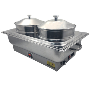 Electric bain marie food warmer for catering