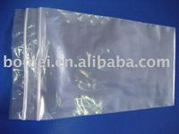 Double-zippers LDPE bags;clear LDPE zip lock bags,plastic zipper bags