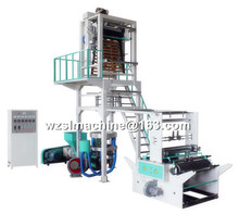 High efficiency control rotary head Plastic PE film blowing machine