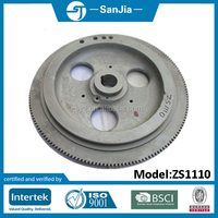 cast iron diesel engine flywheel for tractor OEM and custom from China die casting foundry sand casting foundry