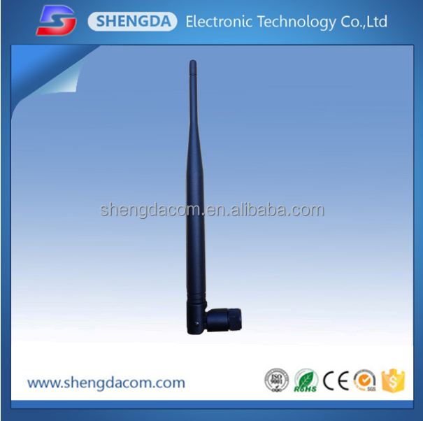 external gsm 915mhz rubber antenna 5dbi sma connector