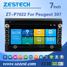 2 din car dvd player for Peugeot 307 car dvd multimedia with radio RDS 3G BT TV car dvd gps player