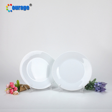 Blank design custom sublimation printing ceramic dish <strong>plate</strong>