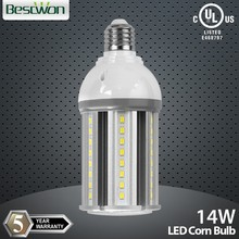 High lumen e40 led corn bulb 14w Samsung LED 5630 chip UL cUL TUV CE listed