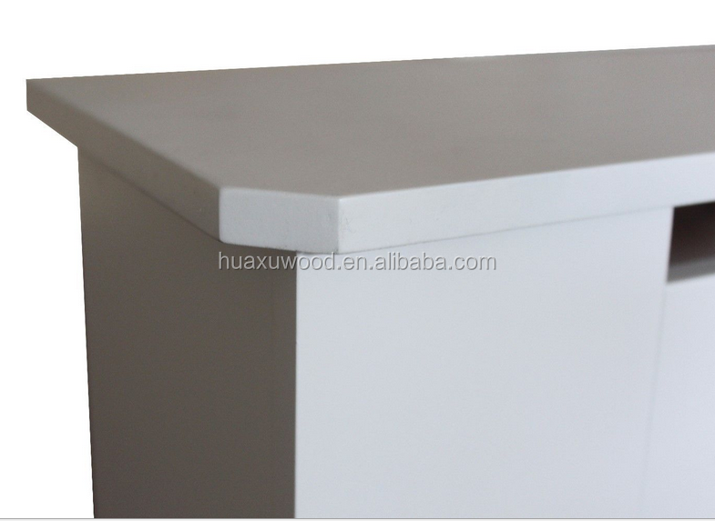 Modern design white painting radiator cover mesh