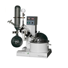 2L Lab Scale Motor Lift Rotary Evaporator with Vertical Coil Condenser