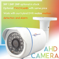 Vitevison CCTV IR waterproof RoHS FCC CE approved AHD CVI TVI optional security camera