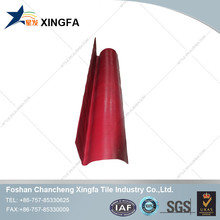 Synthetic gable flashing board plastic roofing material