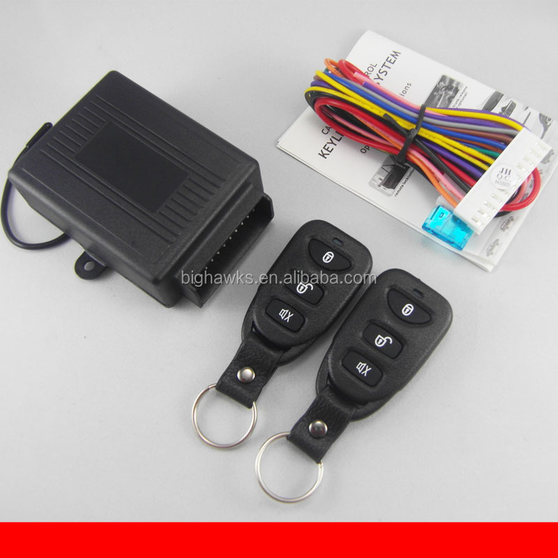 User manual installation guide operation description keyless entry BIGHAWKS K902-8113 M602 manual car alarm system AMB004300