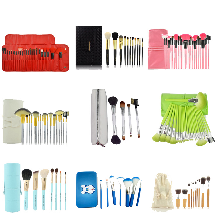 6 Unit Essential Makeup Eye Shadow Brush Kit Cosmetic Brush Set