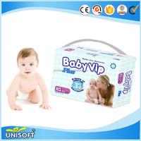 Air Permeability And Moisture Absorption Is Strong Disposable Baby Diaper