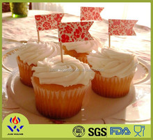 White round paper cake cup cupcake liner