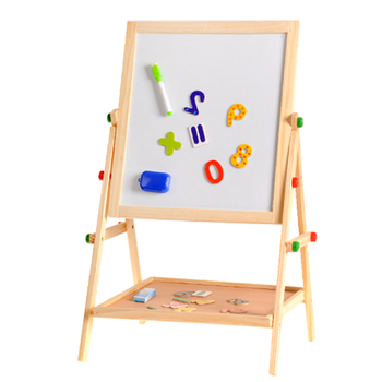 Hot sell early education baby wooden Chuncan Hot Sale Kids Wooden Magnetic Drawing Board
