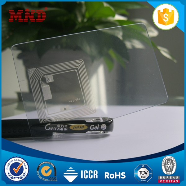 Hot sale Personal profile photo 13.56mhz or 125khz RFID punch time card/attendance card