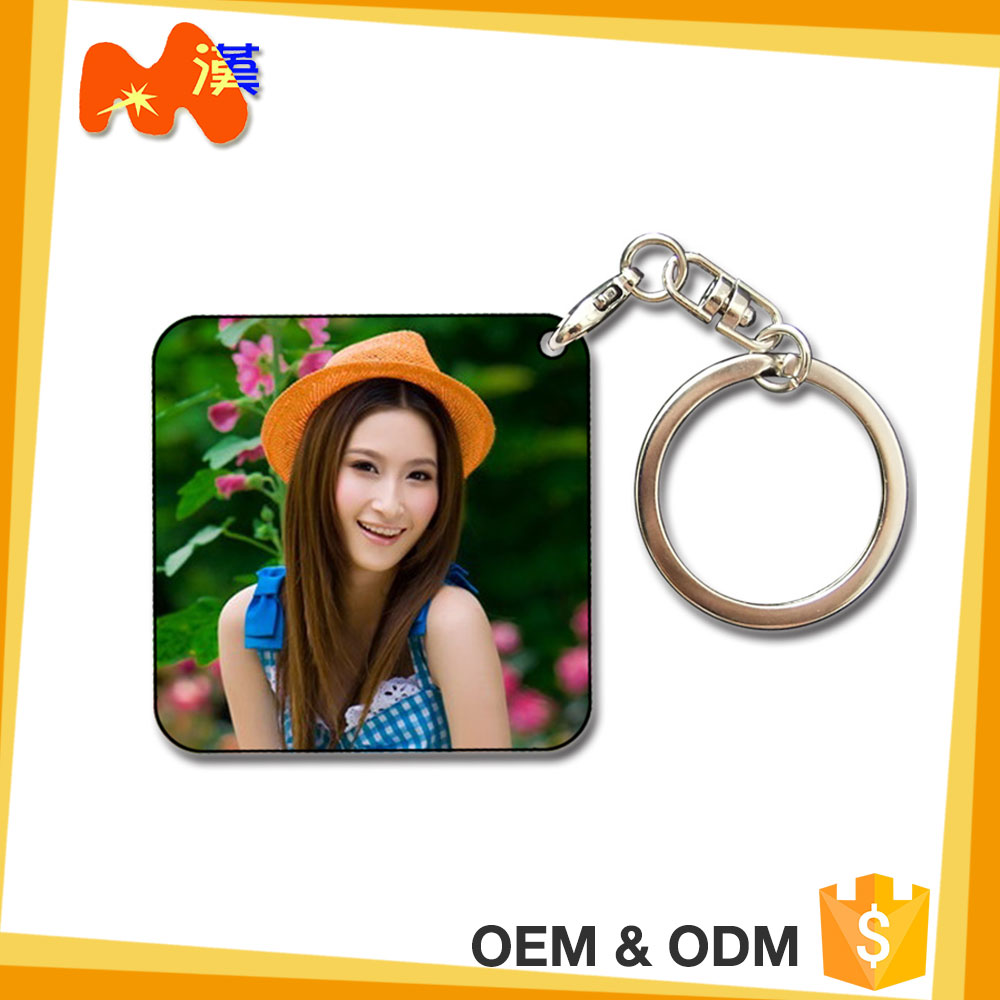 Sublimation Keychain Best Gift For Teacher'S Day Nice Packaing Gift Craft