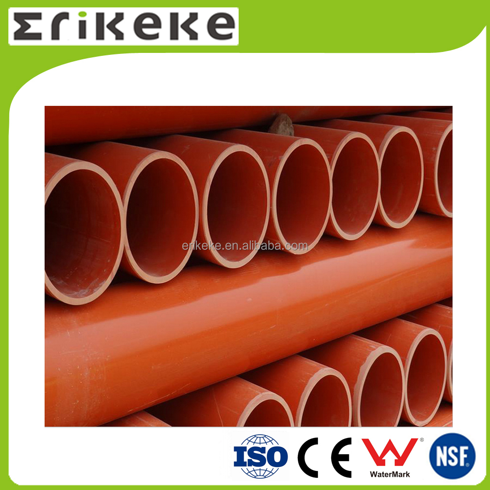 Colored ASTM standard full form pvc pipe