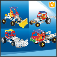 4 in 1 metal intelligent learning toys building blocks early development toy