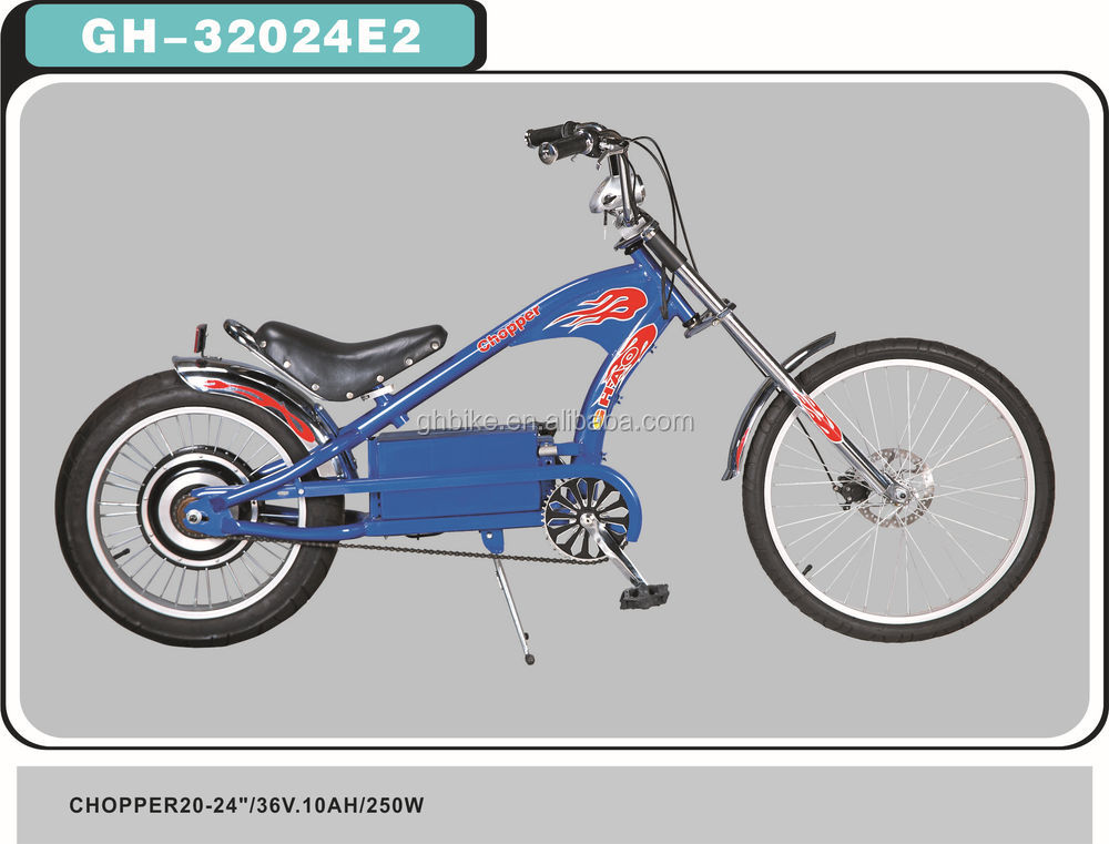 electric chopper bike for adults harely bicycle
