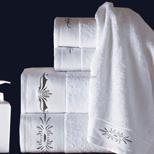 Hotel new embroidery bath/face/hand/floor towel