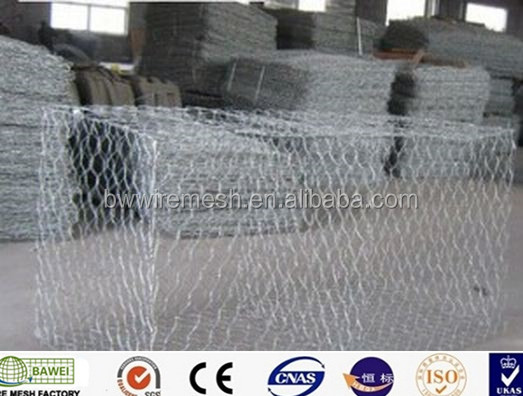 Best selling welded Gabion Box stone cages gabion retaining wall for garden