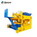 German concrete block making machine moving hollow block machinery QTM6-25 price within 10000USD