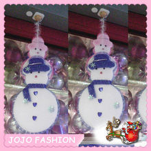 snowman shaped giant christmas hanging ornament