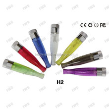 e-cigarette h2 atomizer replaceable Bottom Coil gs h2 clearomizer gs h2 atomizer ego h2