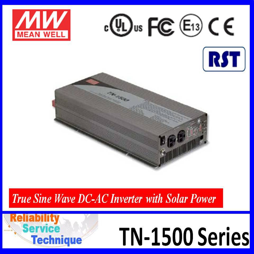 Meanwell POWER INVERTER TN-1500 With Solar Charger TN-1500 solar converter