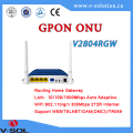 FTTH GPON ONT wireless router wifi onu 4GE