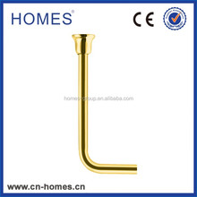 LOW Toilet Level Flush Pipe-Gold plated