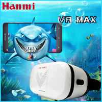 Hot VR MAX Virtual Reality 3D Glasses Headset For Iphone Samsung VR Box 3.5-6.0 Inch Phone Google Cardboard 2.0