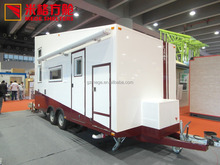 New Style Living Prefab Tiny Sanwitch Panel House of Travel Trailer/RV/Caravan