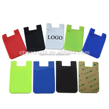 Silicone Smart Phone Card Pouch/ Phone Wallet/ Card Holder