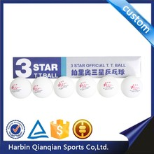 3 star new material durability nonflammable Palio poly table tennis ball