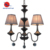 New Products Wholesale 2019 Innovative Black Pearl Finish Chandelier