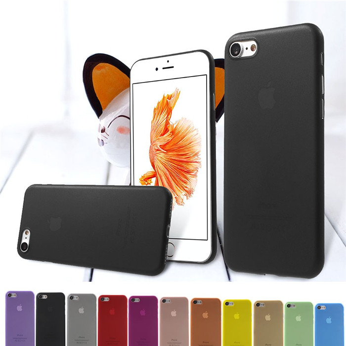 0.3mm Ultra Thin Transparent Clear Mobile Phone Case Protective Hard Plastic Skin Shell Cover for iPhone 6 Plus 5.5