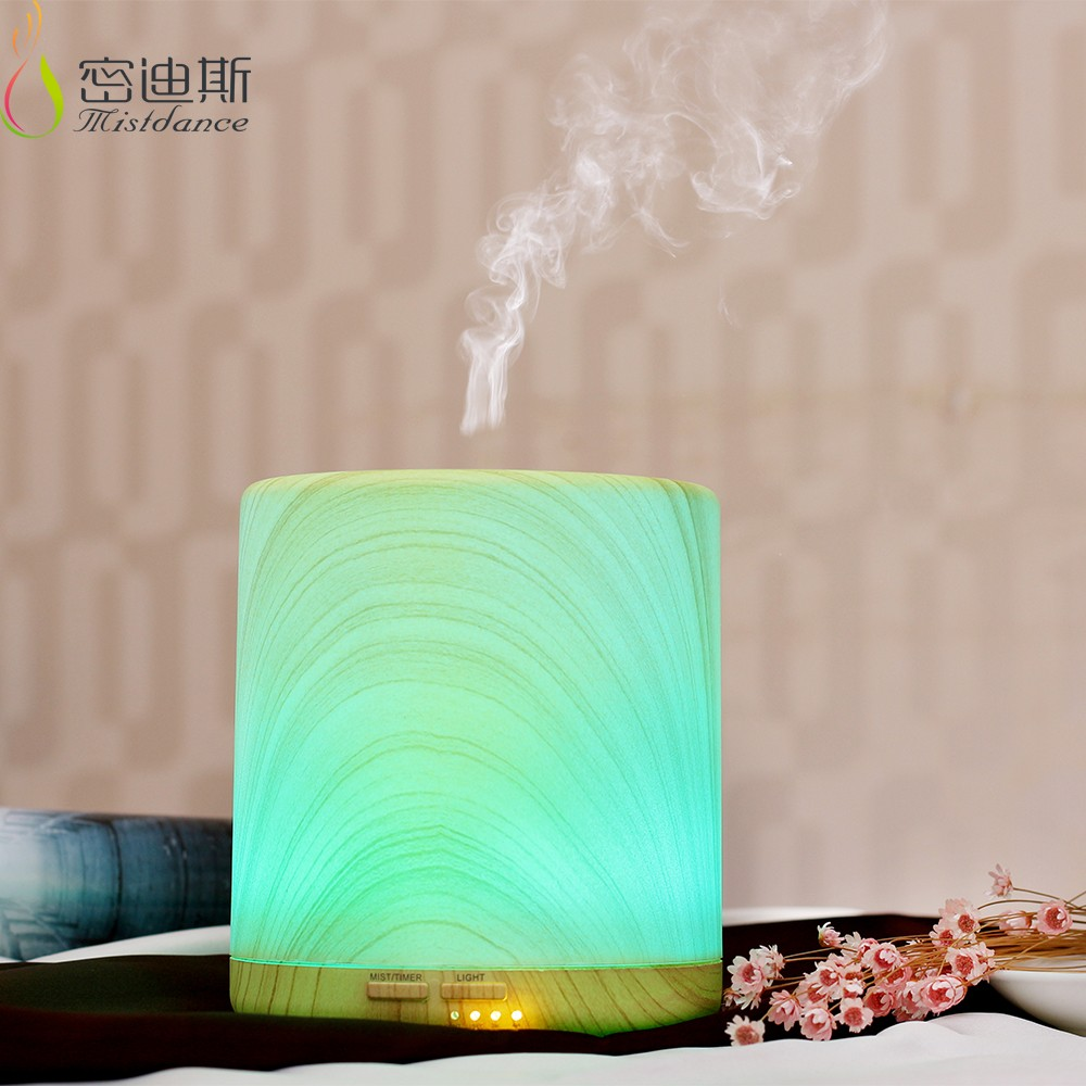 Classic 400ml wood air humidifier, ultrasonic personal essential oil humidifier
