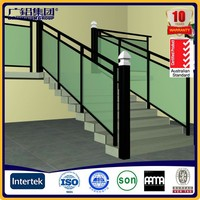 Aluminum luxury stair handrail