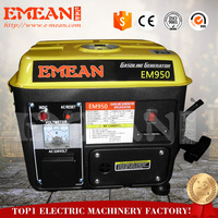 Chinese Made groupe electrogene gasoline generator,450 watt gasoline generator with CE ISO