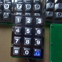 wholesale metal backlight access control keypad for home security system