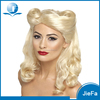 Hot New Products for 2016 Top Quality Soft and Smooth Blonde Wigs
